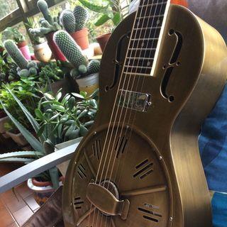 Guitarra resonador Republic Resolian Parlor #332