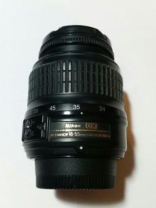 Objetivo Nikon 18-55mm