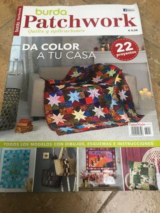 Revistas patchwork aplicaciones costura