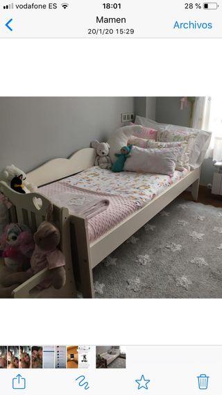 Cama de niños/as Ikea Hesvinski