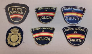 INSIGNIA O PARCHE DEL CUERPO NACIONAL DE POLICIA,