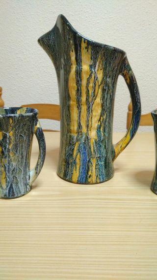 Juego de porcelana antigüo