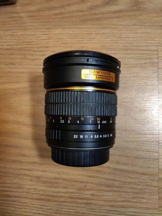 SAMYANG 85mm 1.4 para Canon