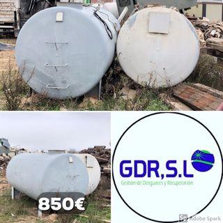 Depósitos hierro 5000 litros