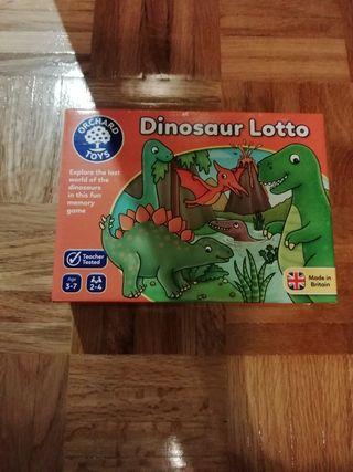 juego loto dinosaurios.