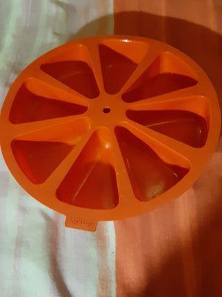 Molde silicona LEKUÉ - 8 bizcochos individuales