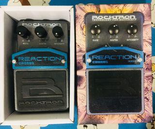Pedal efectos Rocktron Chorus guitarra/bajo