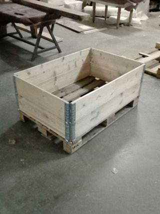 Cerco de madera apilable para palets