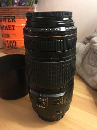 Objetivo Camara Reflex Canon EF 70-300mm f3,5-5,6