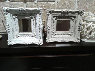Espejos antiguos restaurados.Vintage