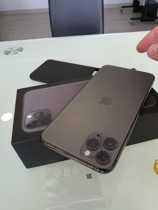 IPHONE 11 PRO MAX 64GB negro como NUEVO SPACE GREy