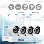 sistema vigilancia kit 4 camaras wifi
