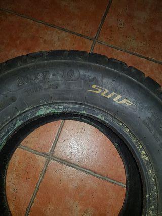ruedas de asfalto quad