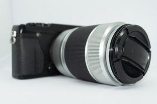 Cámara EVIL Fujifilm X-E1 + Objetivo XC 50-230