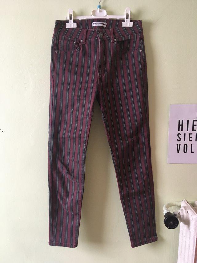 Pantalón rayas Pull&Bear