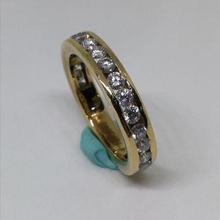 Anillo de ORO 18kt con Diamantes E211936