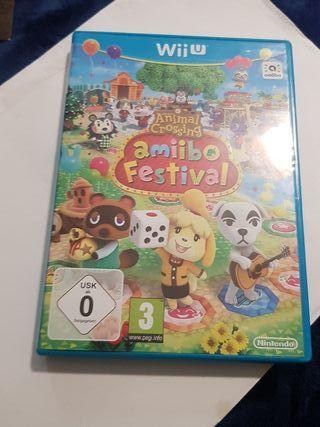 Juego Wiiu Animal Crossing.