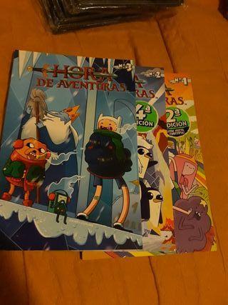 hora de aventuras comics 1, 2 y 3