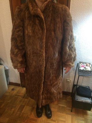 Abrigo piel Lomos de Bison