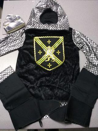 Disfraz de rey medieval