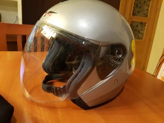 Casco moto.