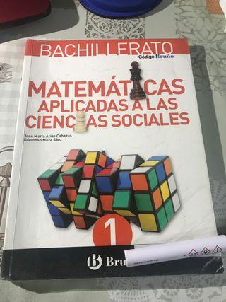 Matemáticas aplicadas CS 1 bachillerato