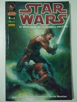 Star wars El resurgir de la fuerza oscura 2