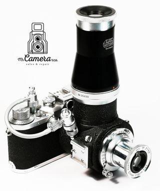 leica IIIC + 50 mm + Visoflex + 2 visores + cable