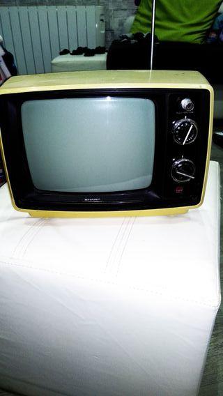 TV vintage, SHARP