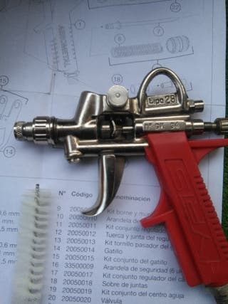 pistola Aerografo