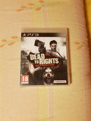 juego ps3 dead to rights