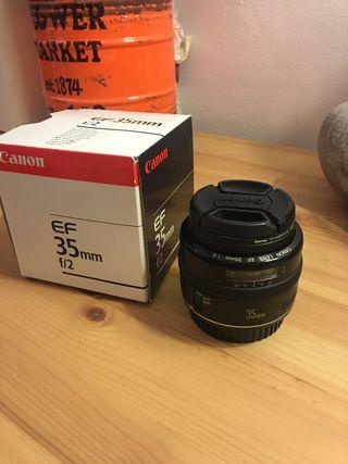 Objetivo Cámara Reflex Canon EF 35mm f2