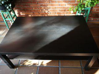 Mesa Ikea LACK y mueble tv Ikea