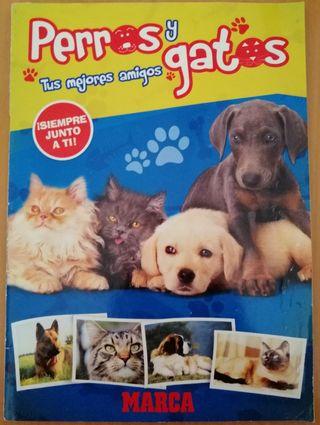 Album completo perros y gatos de marca
