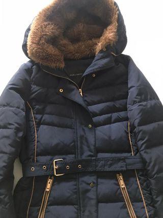 Abrigo plumífero de Zara