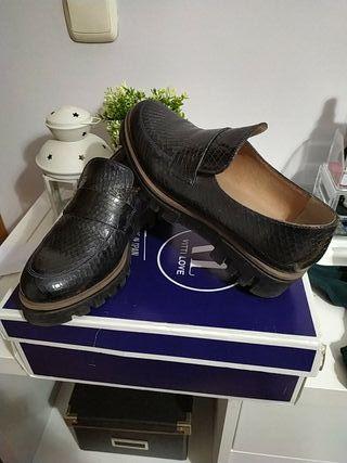 zapato mujer piel t.35