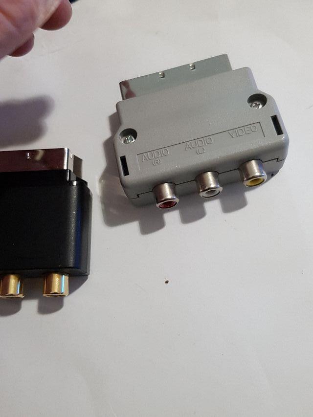 Euroconector X360 y Wii