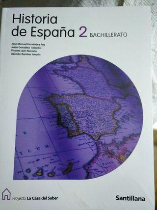 Historia de España 2° Bachillerato