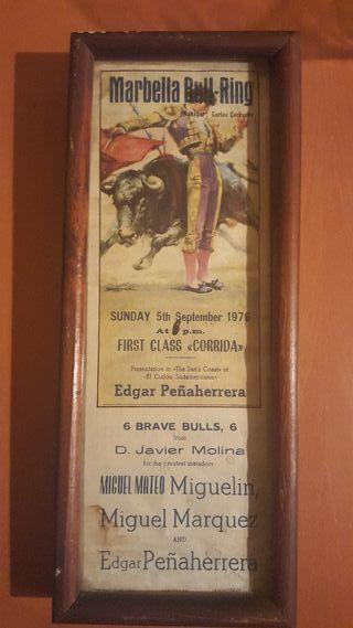Cartel de toros año 1976