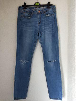 Pantalón vaquero azul talla 40 tienda zara mujer