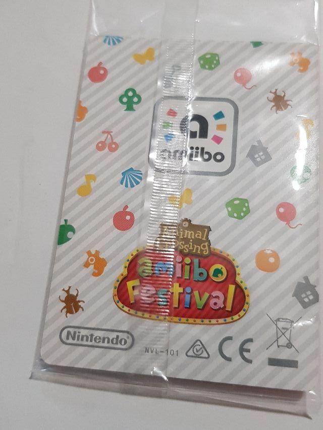Tarjeta Amiibo.