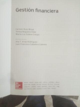 libro de Gestión Financiera de A.F