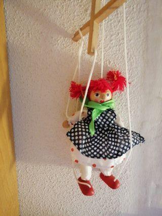 marioneta de cuerdas