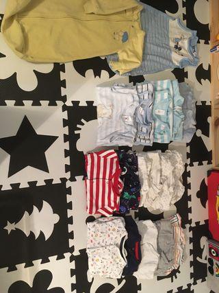 Pijamas, petos, sacos de dormir bebé 0-3meses