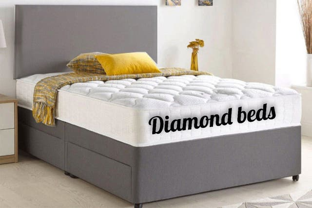 Divan fabric beds