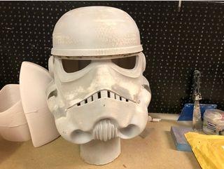 Replica casco star wars para cosplay 3D nuevo