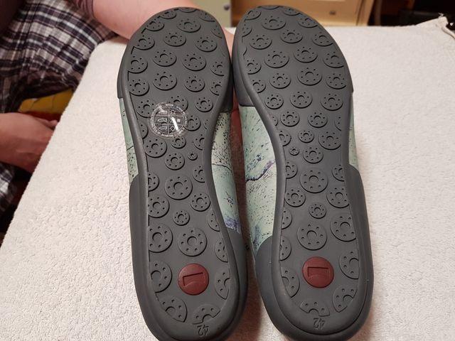 zapatos camper a estrenar