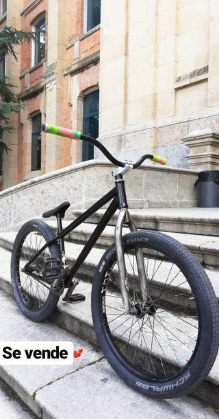 "Bici mtb street/dirt 24"""