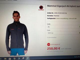 Chaqueta Mammut Eigerjoch Hybrid Jacket