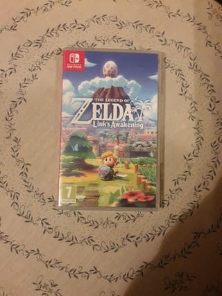 Zelda links awakening casi nuevo